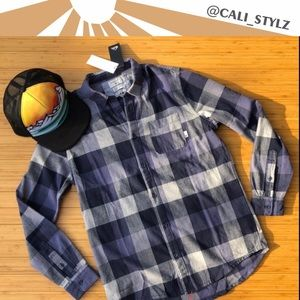 🔷🔹QUIKSILVER MOTHERFLY FLANNEL🔹🔷